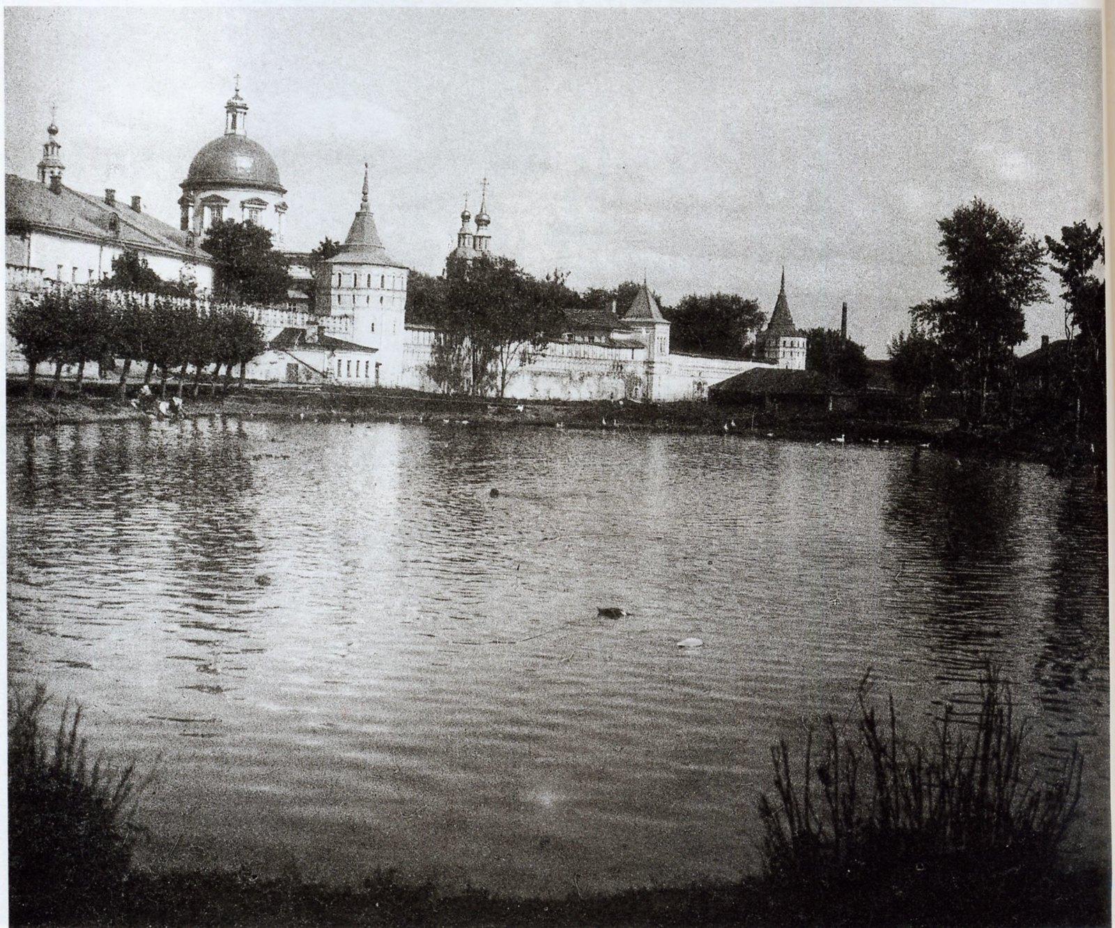 Даниловский пруд у Гамсоновского переулка