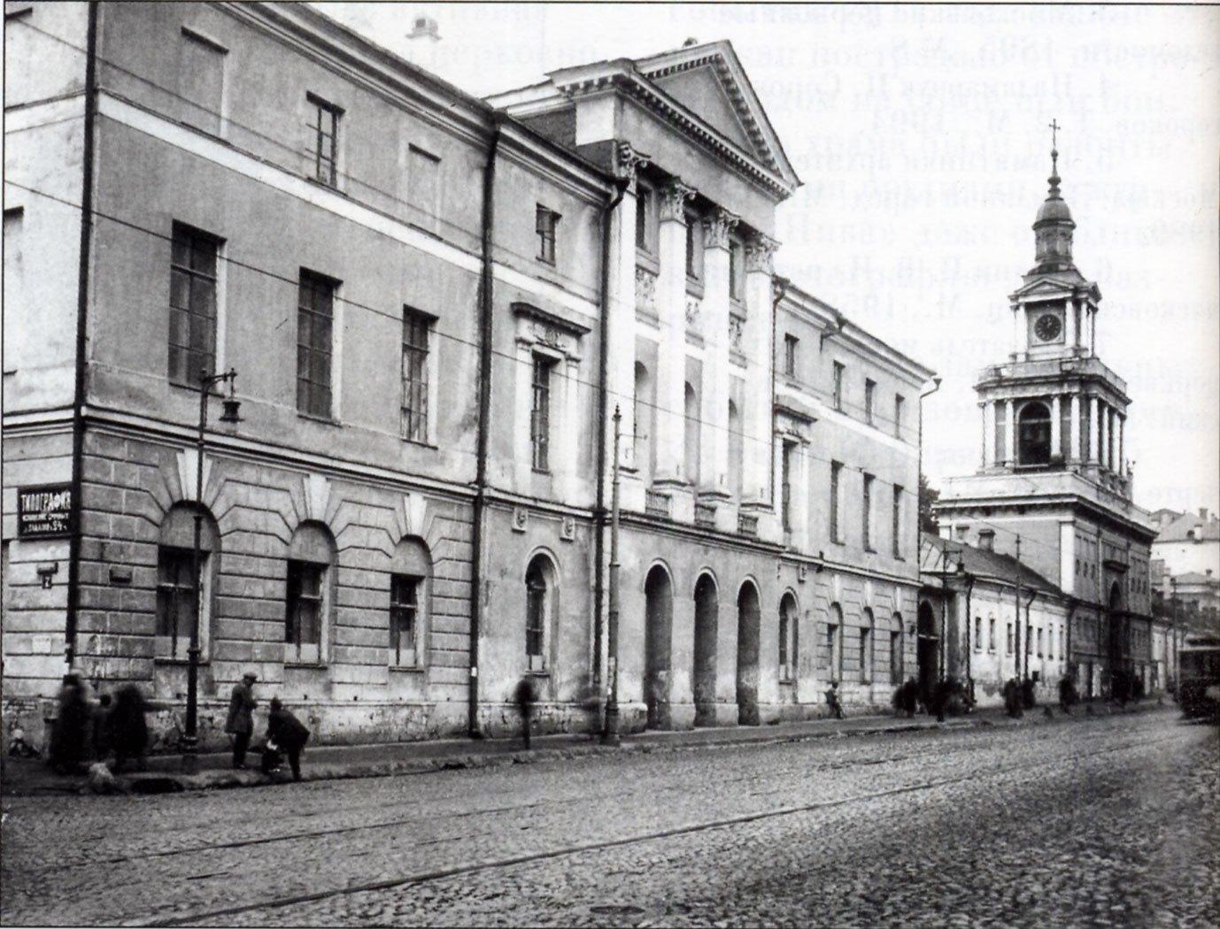 Большая Никитская улица. Бывший дом Орловых