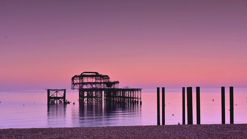 The meditating pier