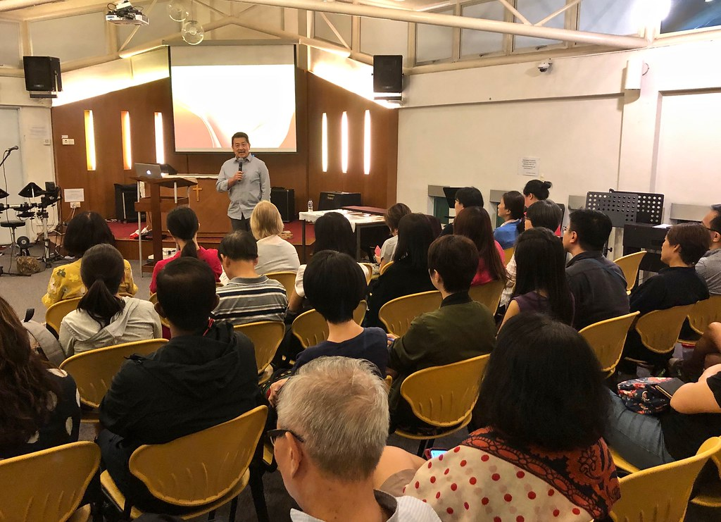 'Henri Nouwen and Our Union of Hearts with God' Evening Talk (St. John's & St. Margaret's Anglican Church, Singapore) April 23, 2019