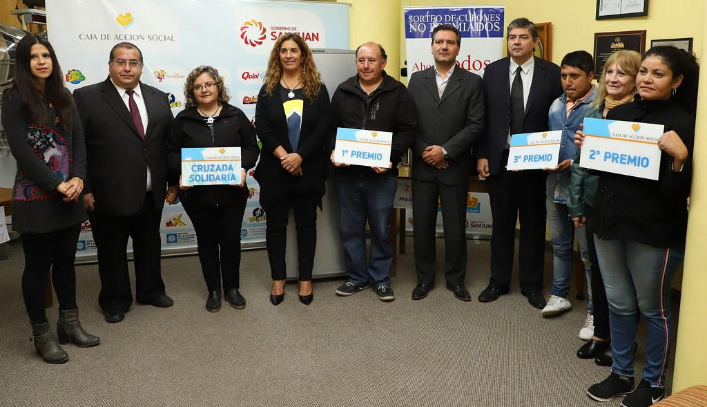2019-04-25 PRENSA: Entrega de Premios Cupones no Premiados Caja de Acción Social