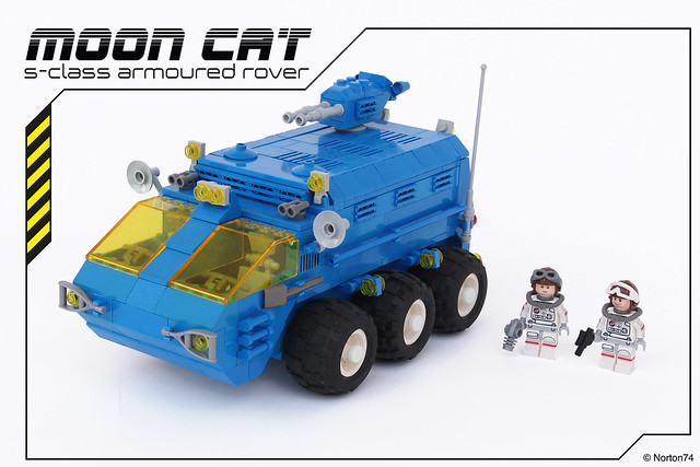 LEGO Classic Space Moon Rover