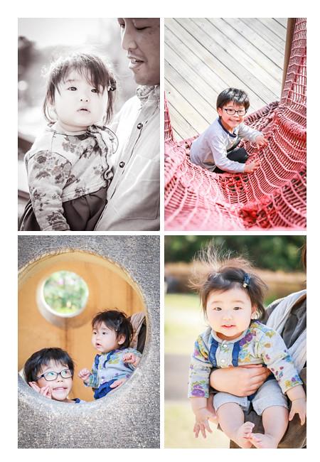 愛・地球博記念公園で遊ぶ子供