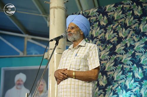Naranjan Singh from Sant Nirankari Colony DL, expresses his views