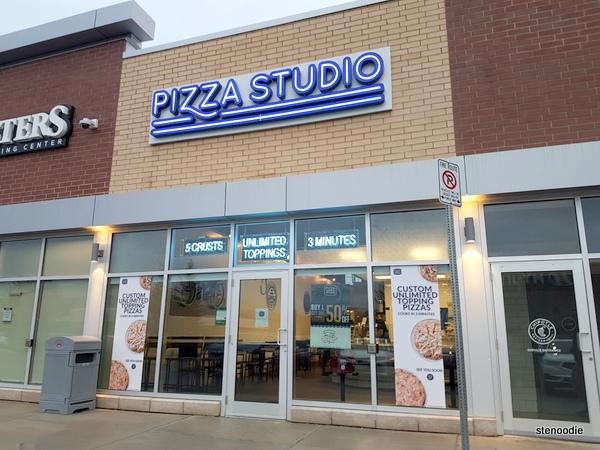 Pizza Studio Markham storefront