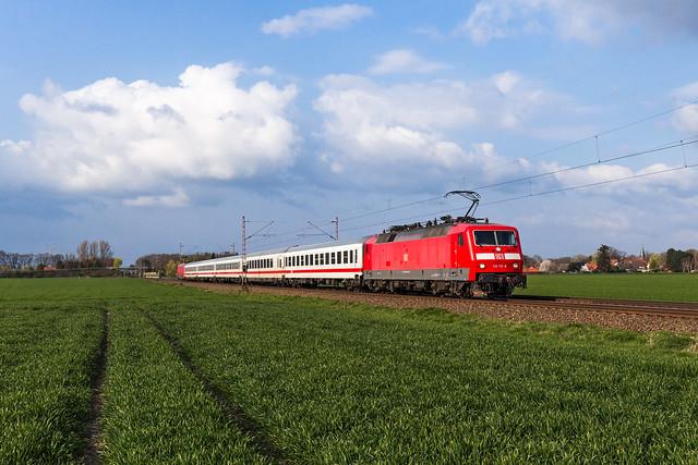 DB 120 113 - Nienburg (Weser)