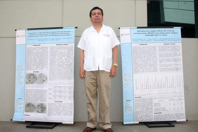 Facultad de Medicina Humana de la USMP exhibió mejores producciones científicas de sus alumnos e investigadores