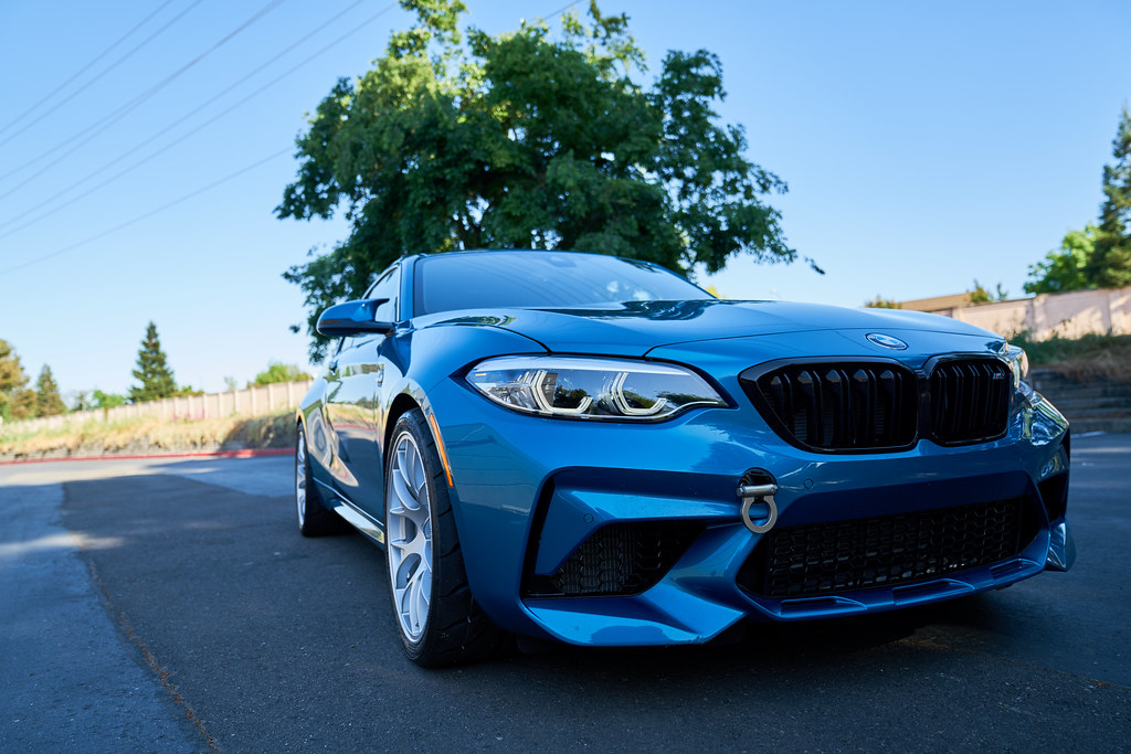 2019 Bmw M2 Competition With 19 Ec 7 Wheels Front 19x9 5 Flickr