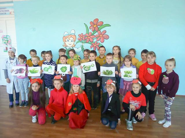 Презентація проектів «Королівство овочів та фруктів», 18.04.19