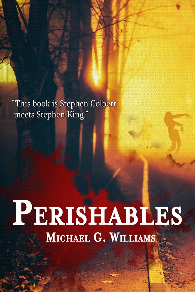 Michael G Williams Perishables LGBTQ Vampire Humour