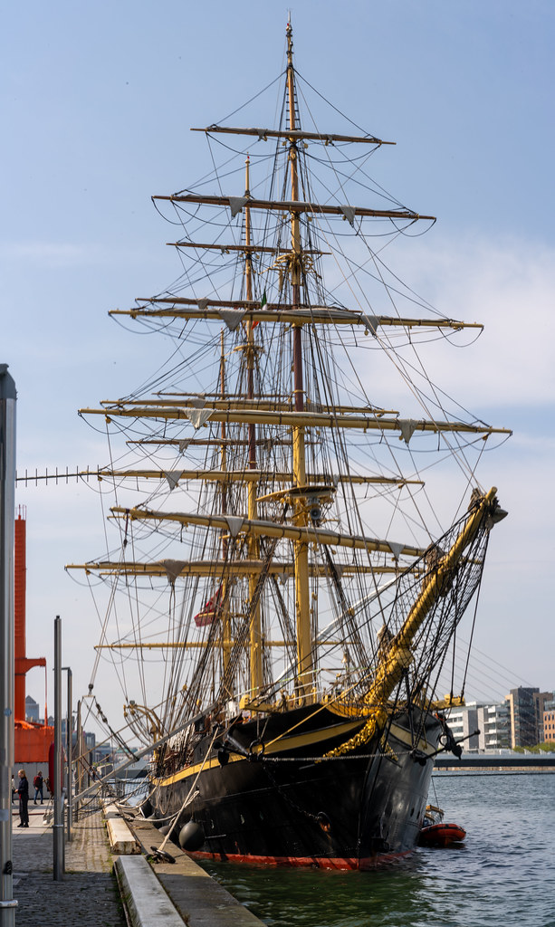 TALL SHIP GEORG STAGE - FROM DENMARK 005