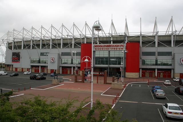 Middlesbrough Football club stadium