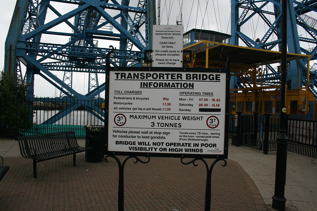 The Transporter Bridge, Middlesbrough