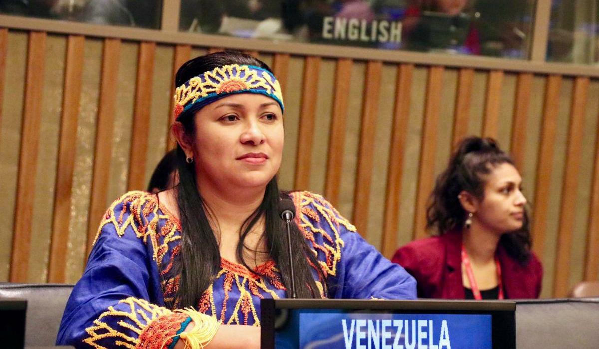 Ministra Aloha Núñez resalta logros de los pueblos indígenas en Venezuela durante Foro Permanente para las Cuestiones Indígenas de la ONU