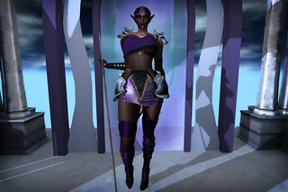Roped Passions - Ademe Warrior RFL outfit Purple