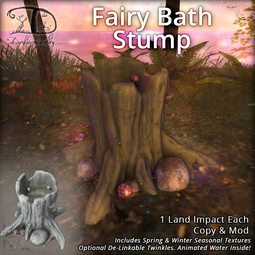 Fairy Bath Stump