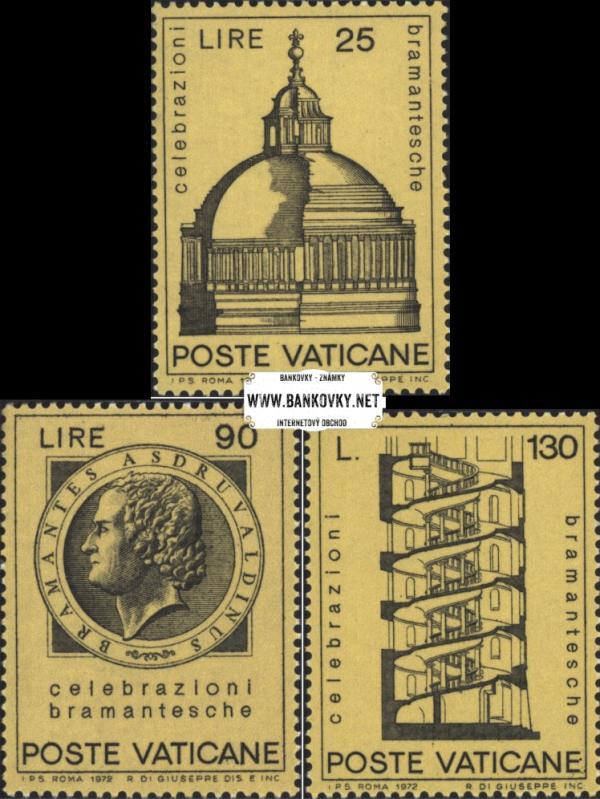 Známky Vatikán 1972 Bramante, MNH