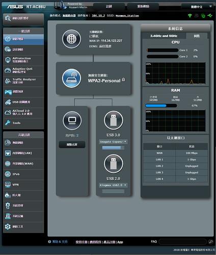 Asus AC86U Merlin Firmware
