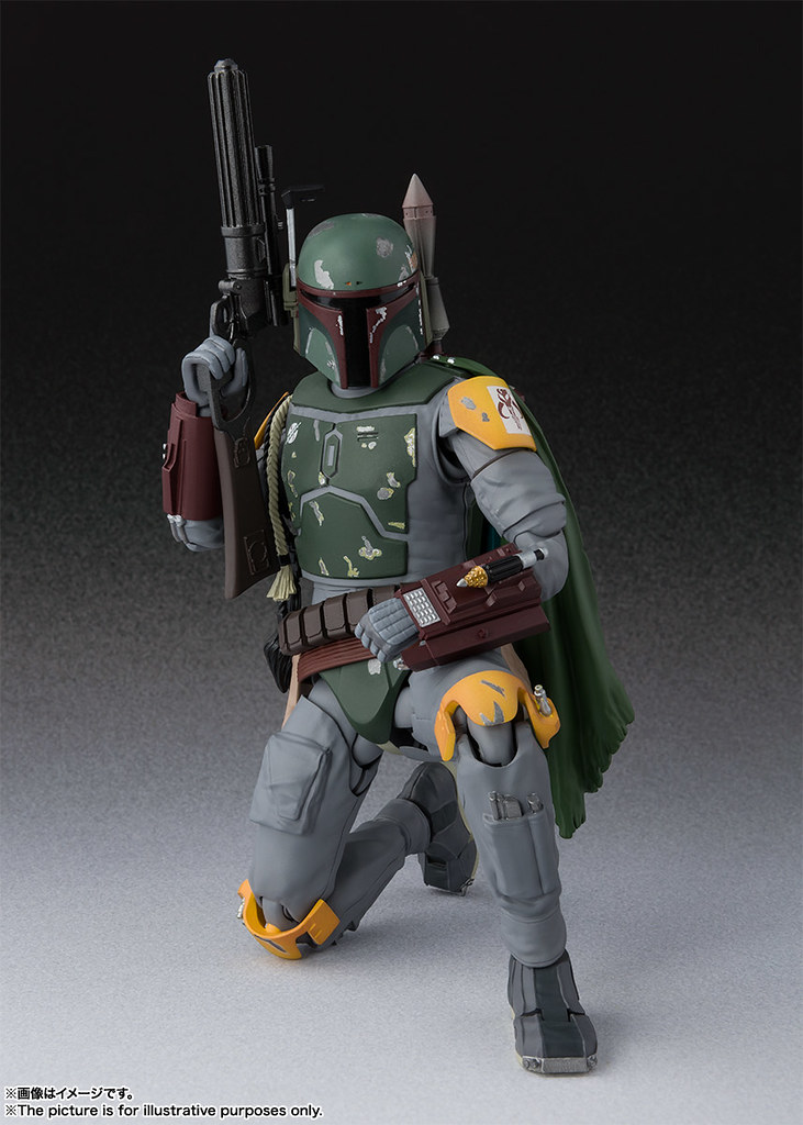 S.H.Figuarts《星際大戰六部曲:絕地大反攻》波巴·費特 ボバ・フェット(STAR WARS:Episode VI - Return of the Jedi)