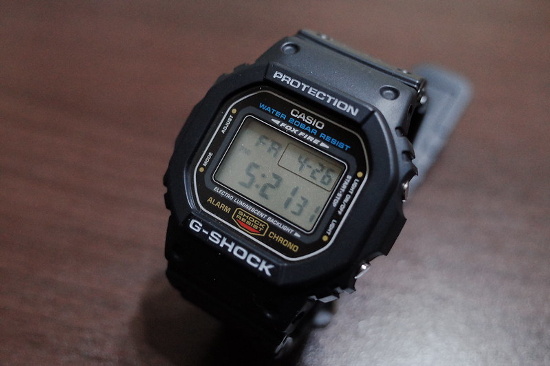 CASIO G SHOCK DW 5600E 1