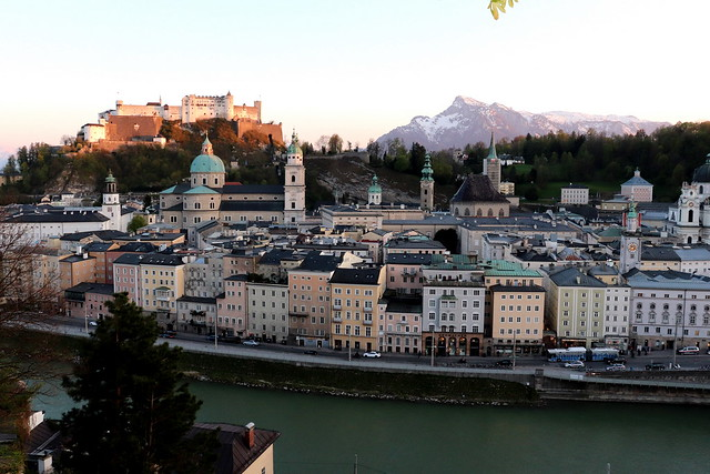 Miradores que ver en Salzburgo