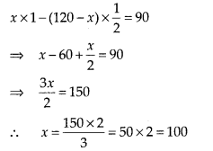 NCERT Exemplar Class 10 Maths Chapter 3 Pair of Linear Equations in Two Variables 3.3 A21