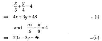 NCERT Exemplar Class 10 Maths Chapter 3 Pair of Linear Equations in Two Variables 3.3 A9a