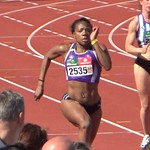 PROVINCIAAL KAMPIOENSCHAP DAG2 MOL 22-04-2019: medaillewinnaar 100m-200m: Tabita Kassima.