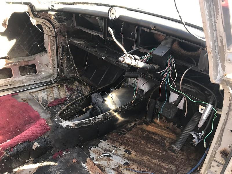 Rover Parts Car