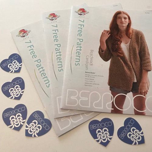 Berroco has another LYS Day exclusive pattern booklet of seven patterns