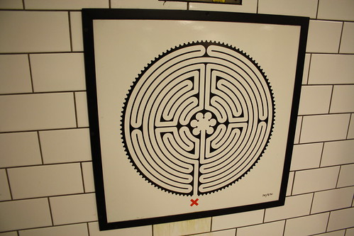 Labyrinth 141 St. Paul's close up