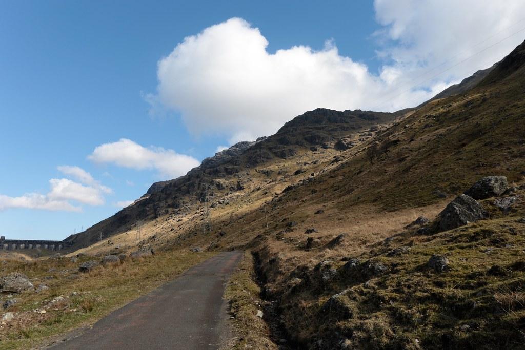 Ben Vorlich from the Loch Sloy access road