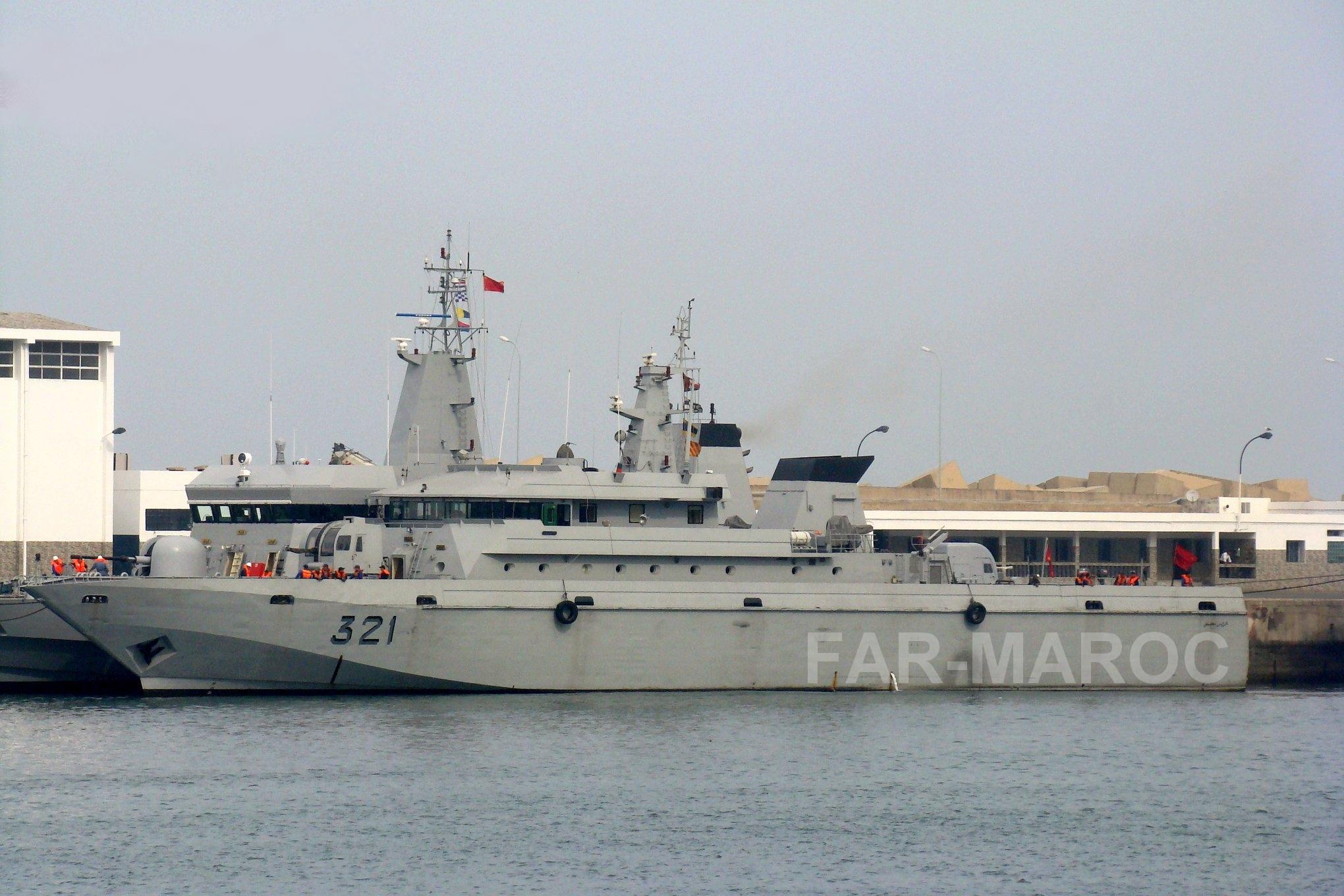 Royal Moroccan Navy Patrol Boats / Patrouilleurs de la Marine Marocaine - Page 14 46790876315_9e4a4da28e_o