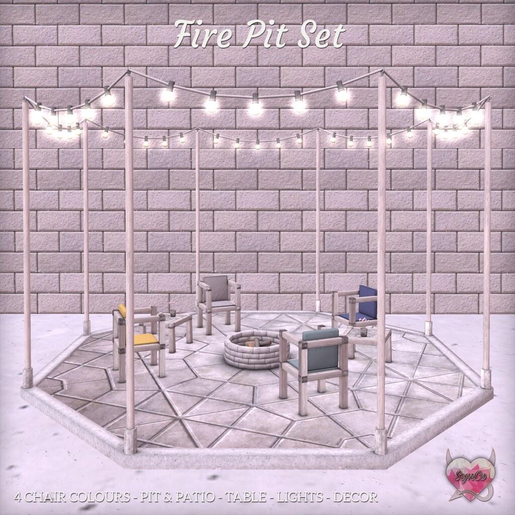 SynCo - Fire Pit Set - TeleportHub.com Live!