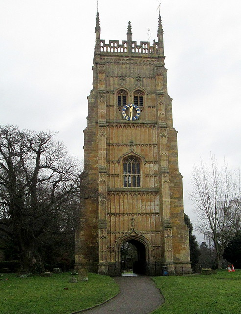 Bell Tower, Evesham Abbey