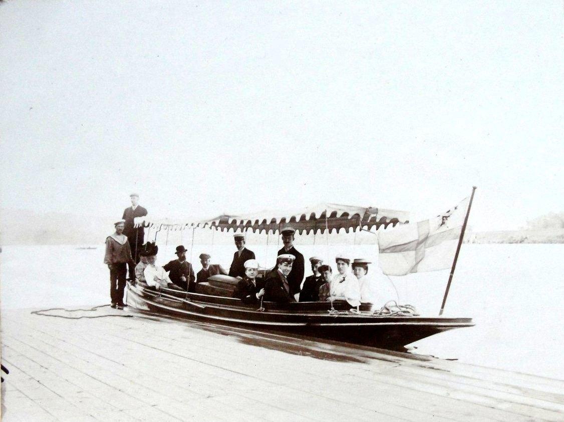 Яхт-Клуб. Моторная лодка. 1900-е