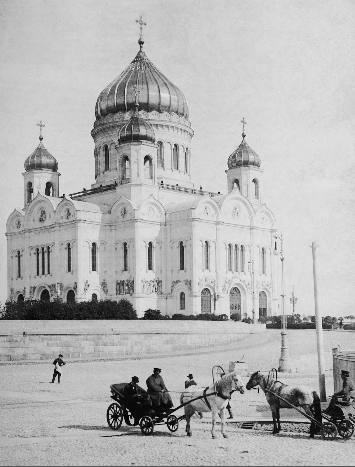 Храм Христа Спасителя. 1894
