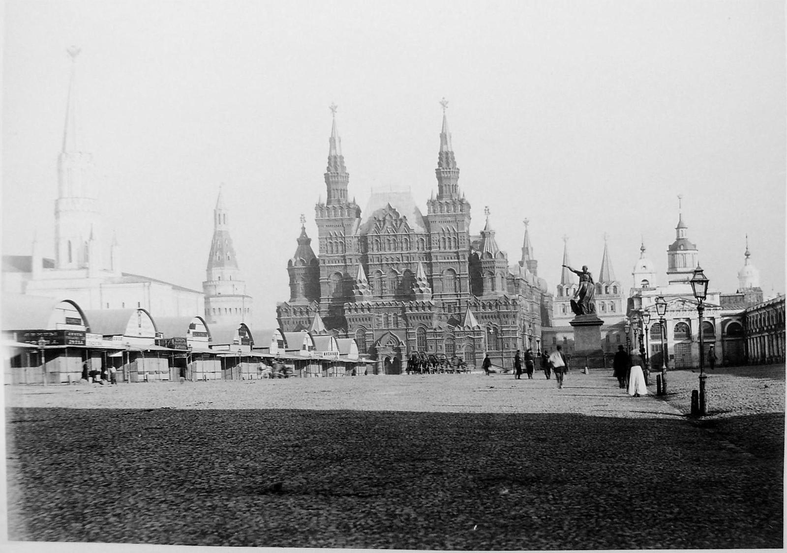 Красная площадь. Исторический музей. 1885