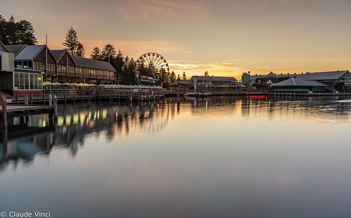 fremantle harbour market longexposure sunrise
