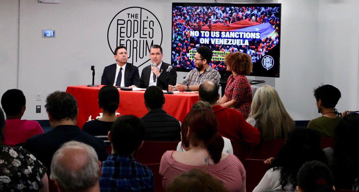 Movimientos sociales de EEUU conformarán Comité Antisanciones en rechazo al bloqueo económico contra Venezuela
