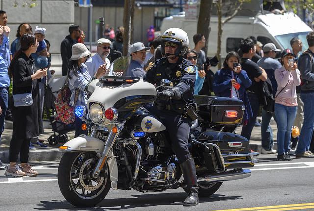 SFPD Motor Lieutenant