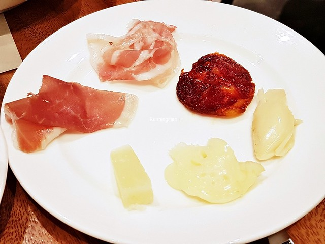 Plate Of Charcuterie & Cheese