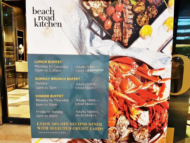 Beach Road Kitchen Buffet Hours & Prices