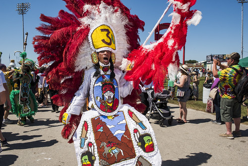 Golden Sioux at Jazz Fest day 2 on April 26, 2019. Photo by Ryan Hodgson-Rigsbee RHRphoto.com