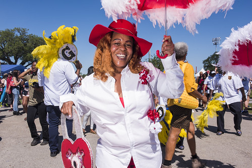 Ladies of Unity at Jazz Fest day 2 on April 26, 2019. Photo by Ryan Hodgson-Rigsbee RHRphoto.com