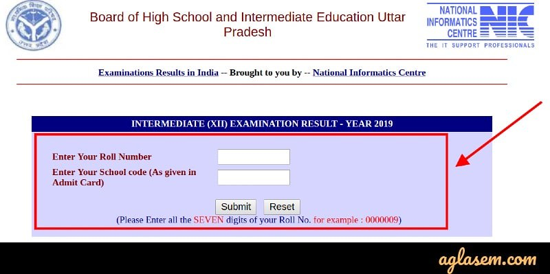 UP Board 12th Result 2019 Declared- Know Your Scores Here