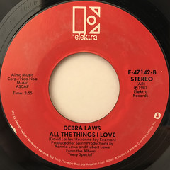 DEBRA LAWS:VERY SPECIAL(LABEL SIDE-B)