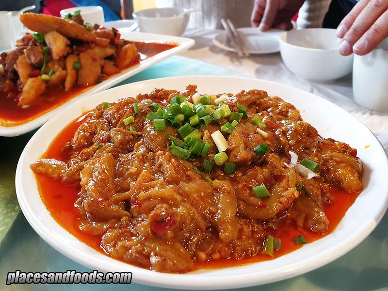 china mount emei lunch