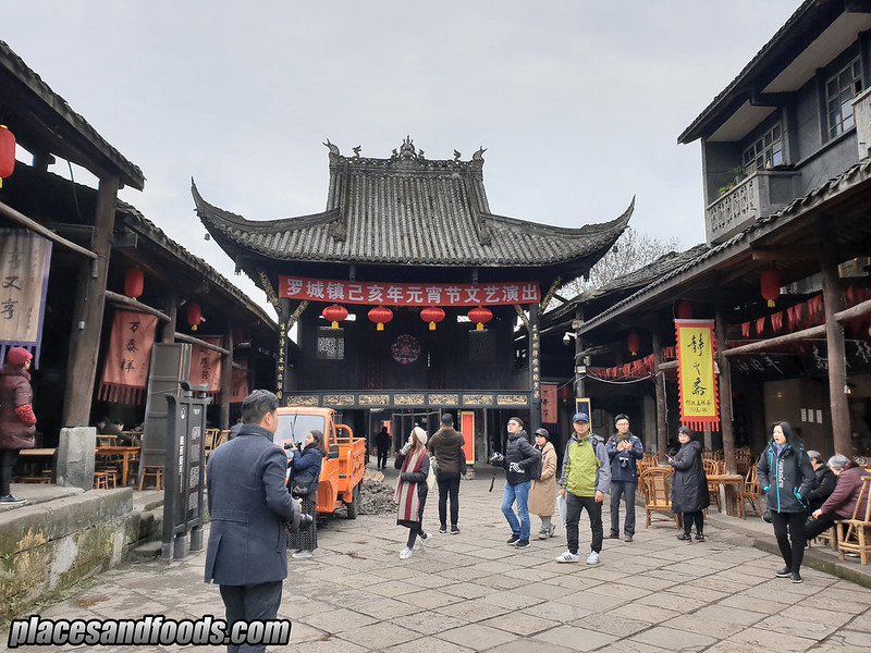 china luo cheng ancient town