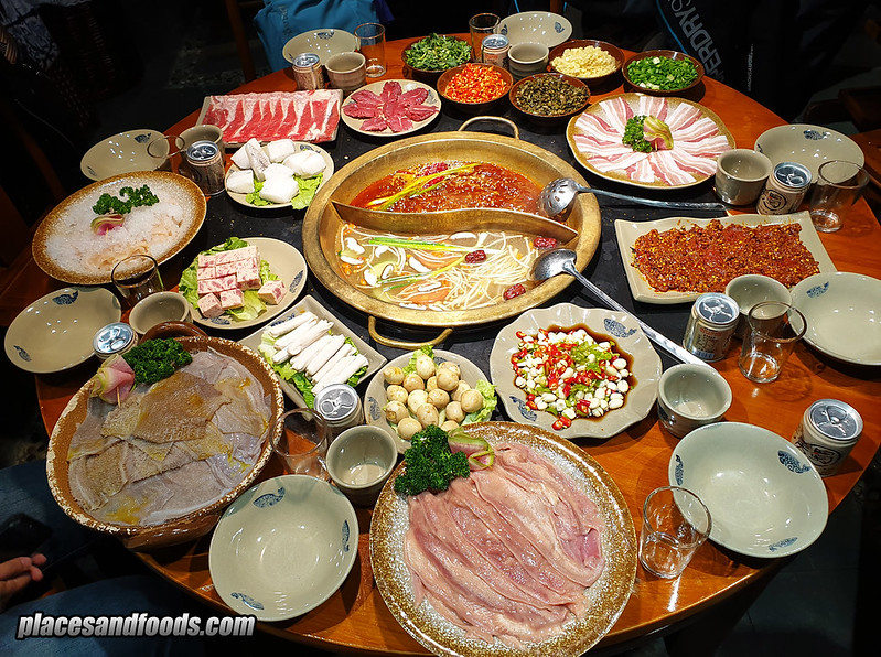 china le shan hotpot 房房燭火鍋